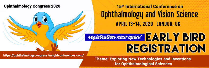 15th International Conference on Ophthalmology and Vision Science