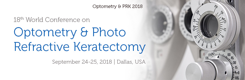 18th World Conference on Optometry & Photo Refractive Keratectomy